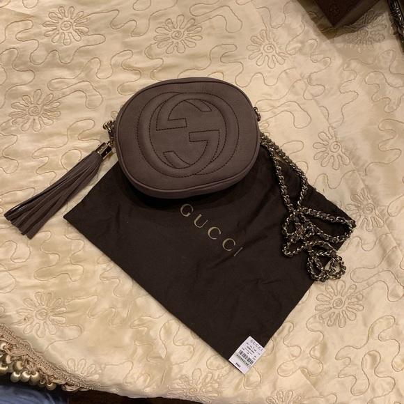 Gucci Handbags - Gucci Soho Nubuck leather disco bag